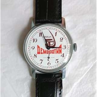 Russian mechanical watch 蘇聯機械錶