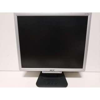 尚典中古3C(二手3C)~中古液晶螢幕(螢幕)宏碁17吋液晶螢幕 型號:AL1706A