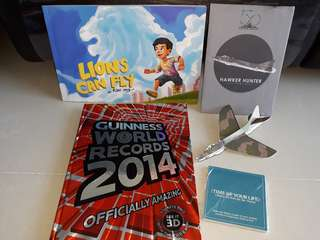 Guinness World Records 2014 and Lions can fly