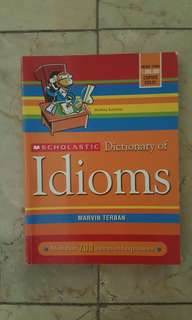 Dictionary of Idioms - Marvin Terbam