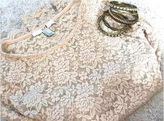Authentic Forever21 Lace Top