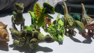 Lego Jurrasic Park/World Raptors