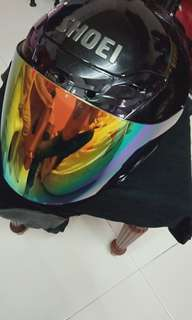 Helmet SHOEI J-FORCE 3 ( NANKAI BLACK)