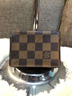 Authentic LV Damier Card Case