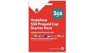 Vodafone Prepaid 3GB 4GSIM card 澳洲28天3GB上網卡 (購自澳洲)