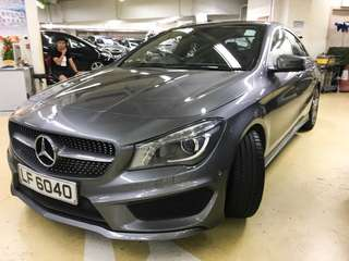 MERCEDES-BENZ CLA250 AMG Package