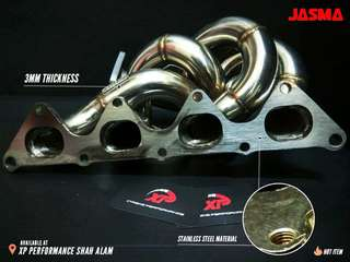 Header Turbo JASMA for Mitsubishi banana exhaust 4g93