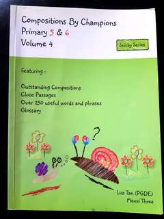 Primary 5/6 English Composition book