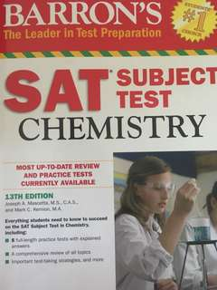 SAT Chemistry Subject Test