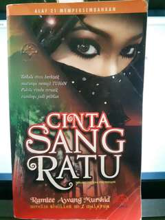 Preloved Novel CINTA SANG RATU Ramlee Awang Murshid