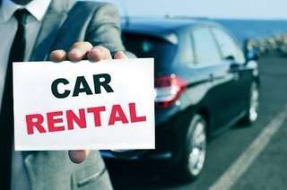 CAR RENTAL (PERSONAL USAGE ONLY)