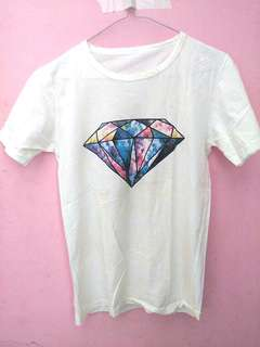 Tumblr tee | white top | Kaos putih