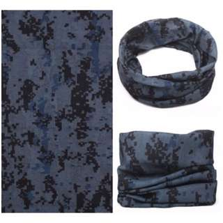 🚚 Multi Scarf - HS-A15 Gray Forest Camouflage