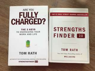 Strengths Finder 2.0 and Are You Fully Charged? by Tom Rath