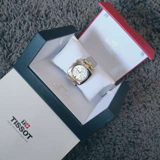 TISSOT Odaci-T Chronograph Silver Dial Ladies Watch | T0203171603700 | Stainless Steel Sapphire Crystal