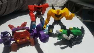 Transformers McDonalds Figures