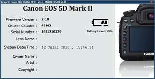 5D Mark ii + Battery Grip