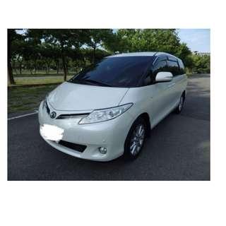 2009年 Toyota Previa 白✅0頭款 ✅免保人✅低利率✅低月付 FB搜尋:阿源 嚴選二手車/中古車買賣