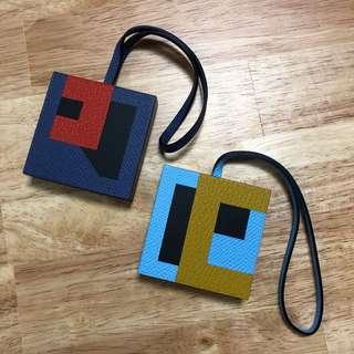 HERMES Lettres au Carré Bag Charms