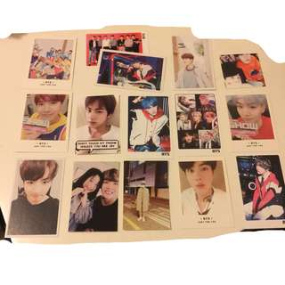 BTS Photocards :)