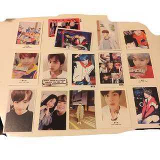 BTS Photocards :)