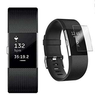 Fitbit Charge 2 Screen Protector (Brand New)