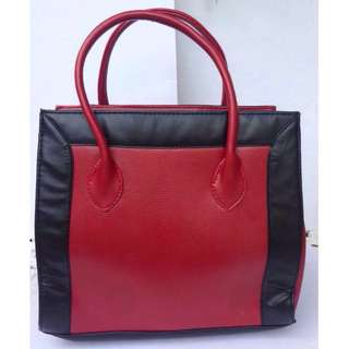 Limited Edition Red Satchel Bag by Pond's
