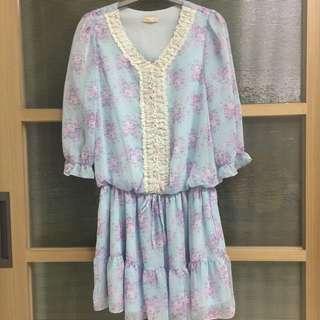 🚚 0918人氣🌹花朵洋裝