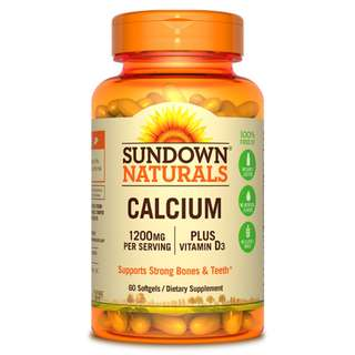 Calcium 1200mg+Vitamin D3, 60 tabs