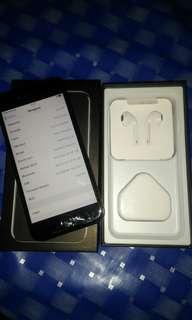 Iphone 7 128gb jett black