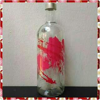 Absolut Raspberri Empty Glass Bottle (New, 1L)
