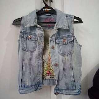 Outwear vast jeans (rompi jeans)