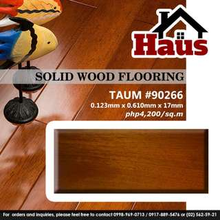 Haus Solid Wood Flooring