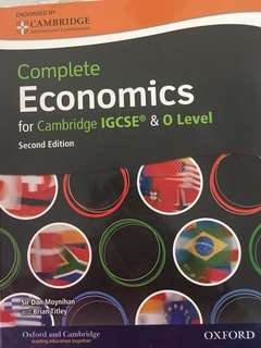 Cambridge O level & IGCSE Economics Textbook