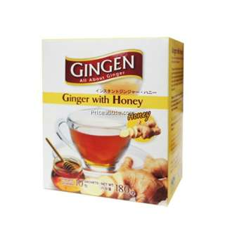 ginger with honey
