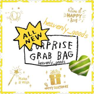 SURPRISE GRAB BAG/GRABBAG/FUN PACK/PARTY GIFTS/MYSTERY BAG/BIRTHDAY PRESENT GIFTS