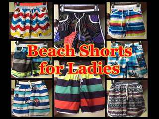 Beach Shorts for Ladies