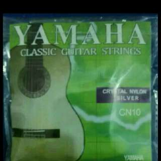 brand new Yamaha classical guitar full set string
