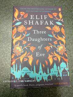 Three Daugthers of Eve by Elif Shafak - English Novel