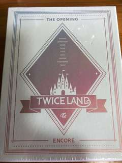 TWICE TWICELAND THE OPENING ENCORE DVD
