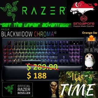 "Razer BlackWidow Chroma V2 "" Orange Switch""..,  ""Hurry Grab the Offer Today.. while Stock Last..."" It is time.."" 15 July last day"""