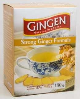 strong ginger formula