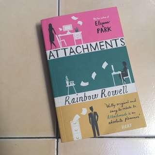 Attachments by Rainbow Rowell (ENGLISH)