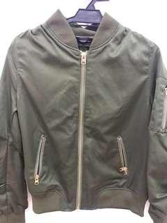 Army Green Bomber Jacket (Uniqlo Quality)