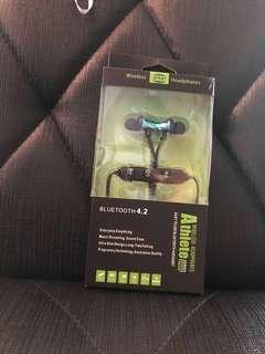 Wireless headphones athlete Bluetooth