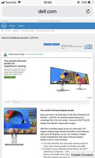 5xNew Dell Ultra Sharp LED Monitor(24 inch)
