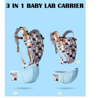 Baby Lab 1702 Colourful Dots Baby Carrier and Hip Seat