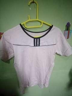 Kaos soft pink / senam