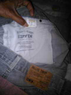 Blue trip EDWIN genuine quality