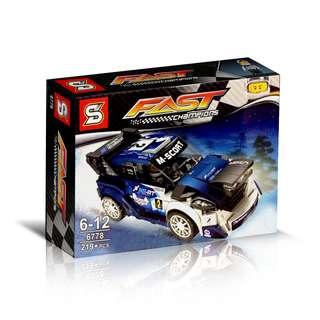 SY™ 6778 Speed Champions Ford Fiesta M-Sport WRC